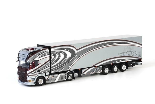 Scania R Topline + Thermoking Stübe Wsi Models 01-1135 escala 1/50