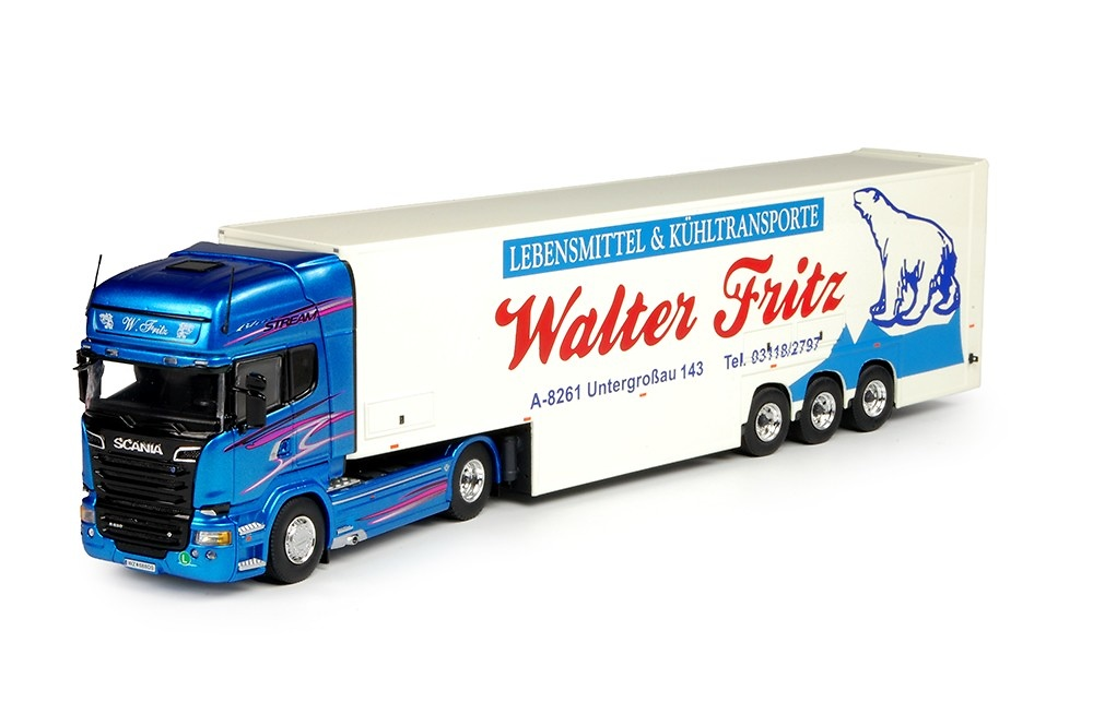 Scania R Topline - Walter Fritz Tekno 68902 escala 1/50