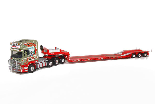 Scania R Topline con Goldhofer STZ-VL 3, Tekno 60760 escala 1/50