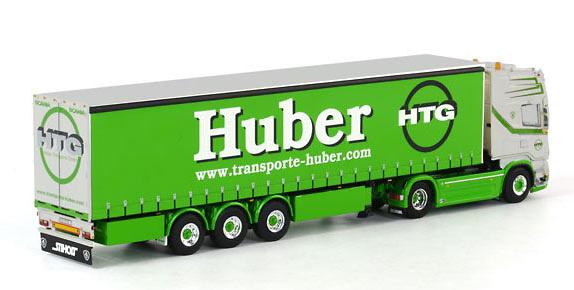 Scania R Topline tautliner Huber Wsi Models 01-1309 escala 1/50