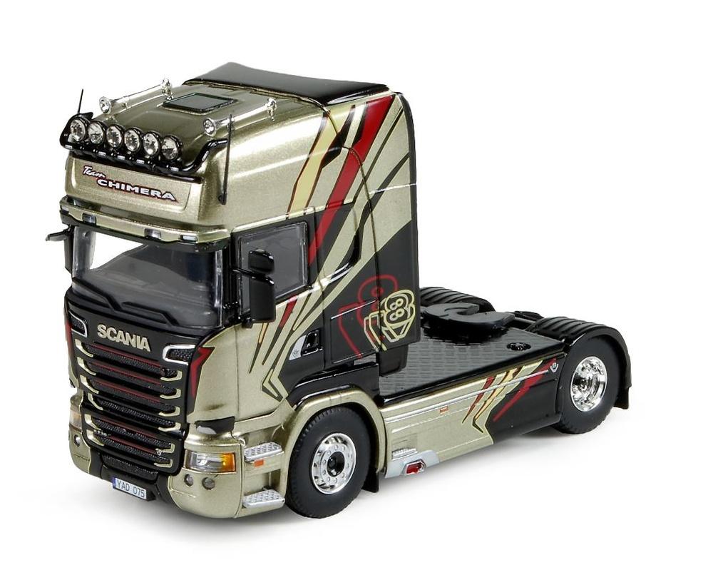 Scania R-serie Streamline chimera 4x2 Tekno 74059 escala 1/50