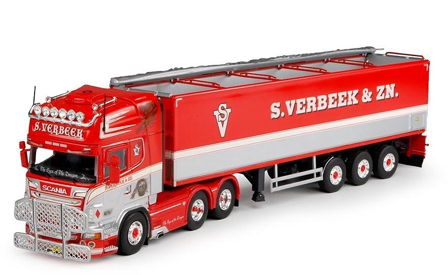 Scania R-serie Topline + remolque patatas Tekno 63497 escala 1/50