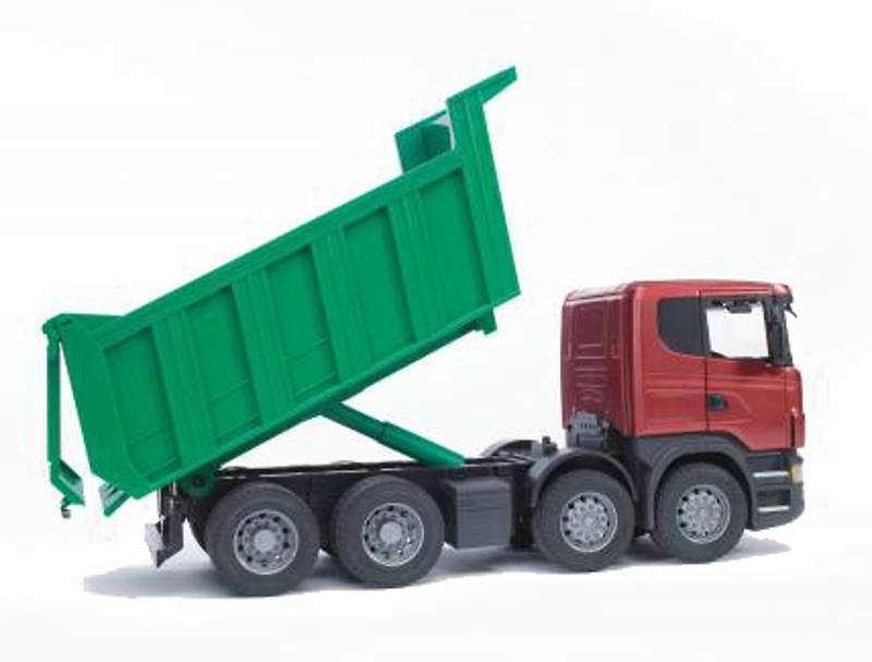 Scania R volquete Bruder 03550 escala 1/16