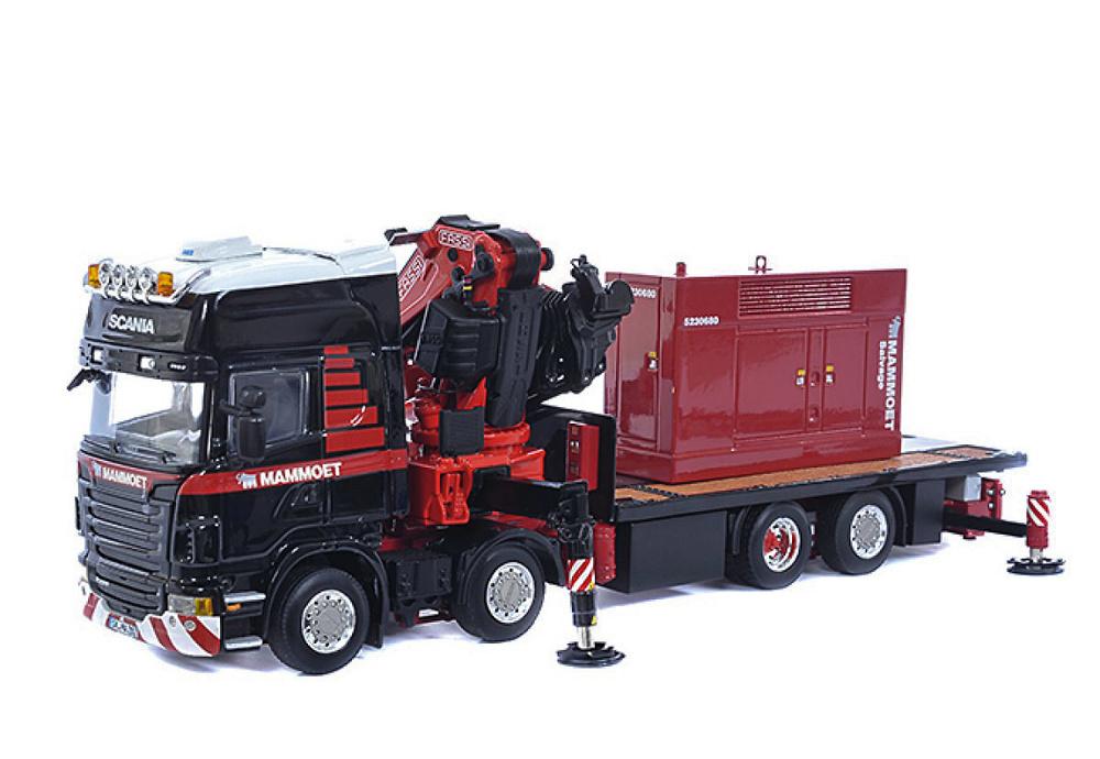 Scania R480 8x2 + generador Mammoet Wsi Models 410201