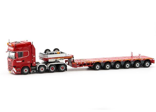 Scania R500 Streamline 8x4 - Nooteboom Multi-PX 6 axle Tonkin Replicas 5313838 escala 1/50