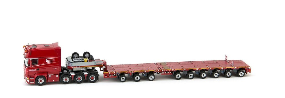 Scania R6 Longline 8x4 + Nooteboom MCO-PX 3+6 ejes Imc Models 1/50