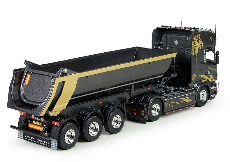 Scania R6 Topline + volquete Bovecchi Tekno 68975 escala 1/50