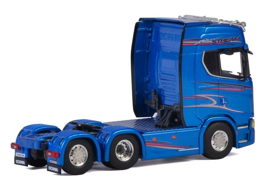 Scania S Highline Blue Stream Wsi Models 04-2045 escala 1/50