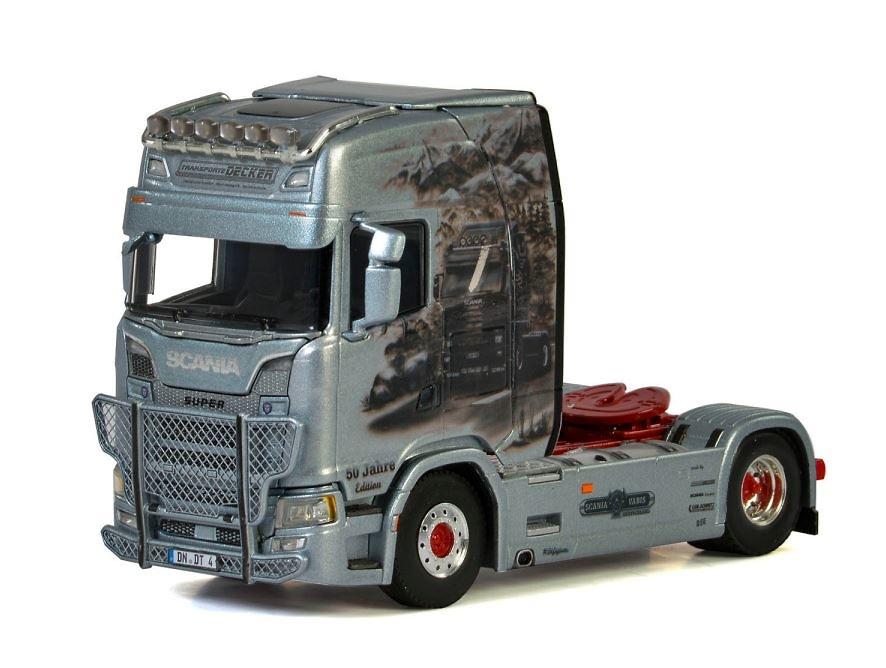 Scania S Highline Decker Transporte Wsi Models 2897