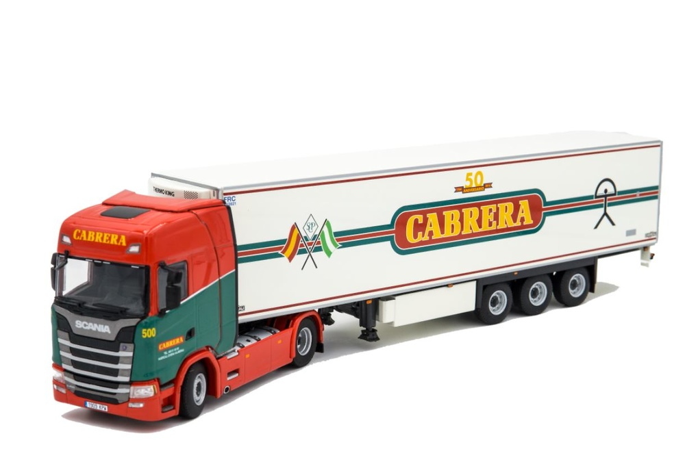 Scania S Highline - Thermoking Cabrera Wsi Models 01-2765