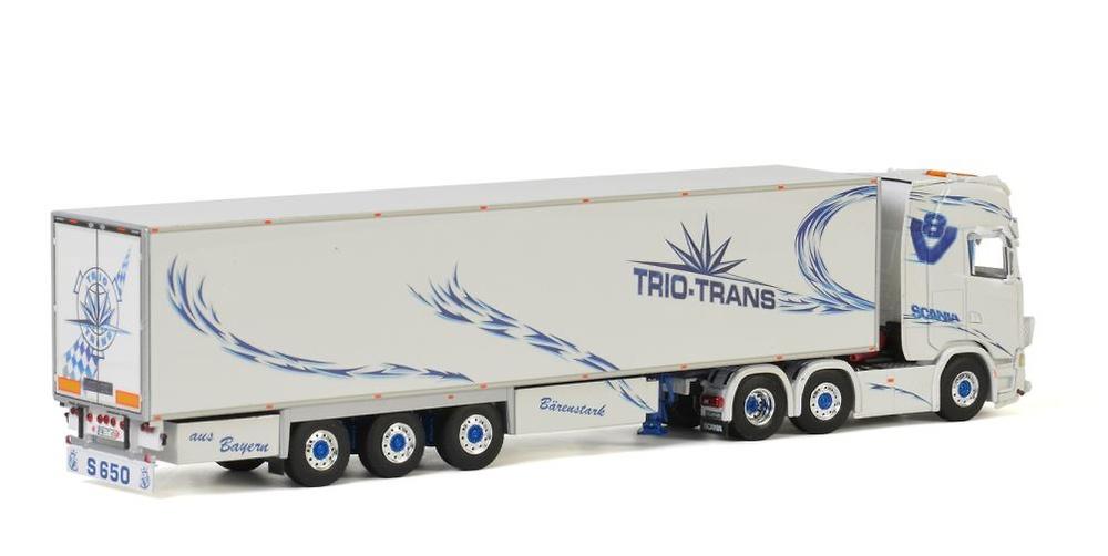 Scania S Highline Trio Trans Wsi Models 01-2810
