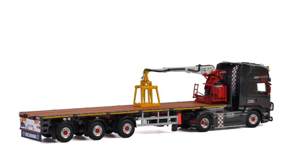 Scania Streamline Topline transporte piedras - Lampe - Wsi Models escala 1/50