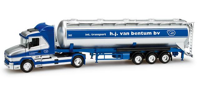 Scania Hauber Silo-Sattelzug