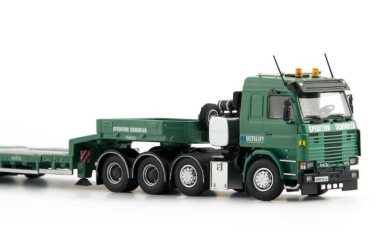 Schindler Scania R143 8x4 + 4 ejes Goldholfer Imc Models 0004