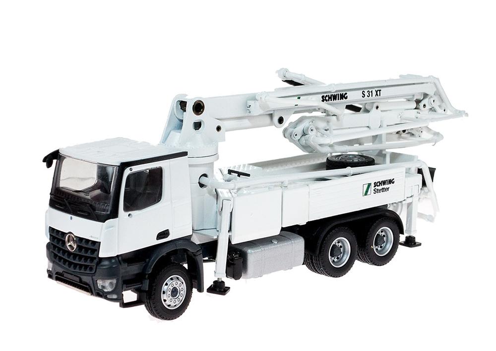 Schwing S 31 XT 1+2 ejes bomba de hormigon en Mercedes Benz, Conrad 78137