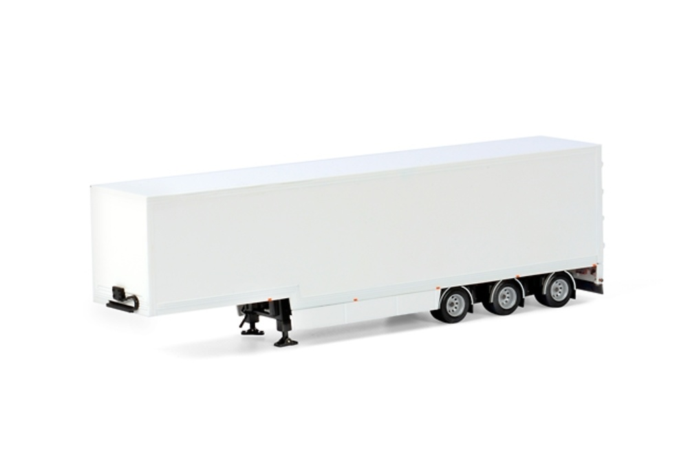 Semi Box Trailer 3 ejes Wsi Models 03-1145 escala 1/50