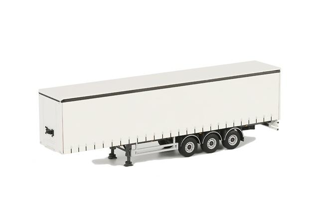 Semiremolque tautliner 3 ejes TRA006, Wsi Models 1068 escala 1/50