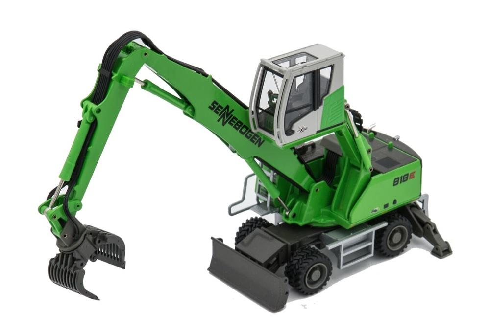 Sennebogen 818E maxicab manipuladora Conrad Modelle 2944/01 escala 1/50