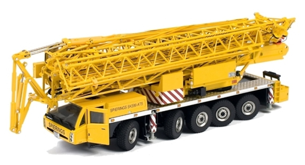 Spierings SK599 AT5 Grua 5 ejes, WSI Collectibles 1/50