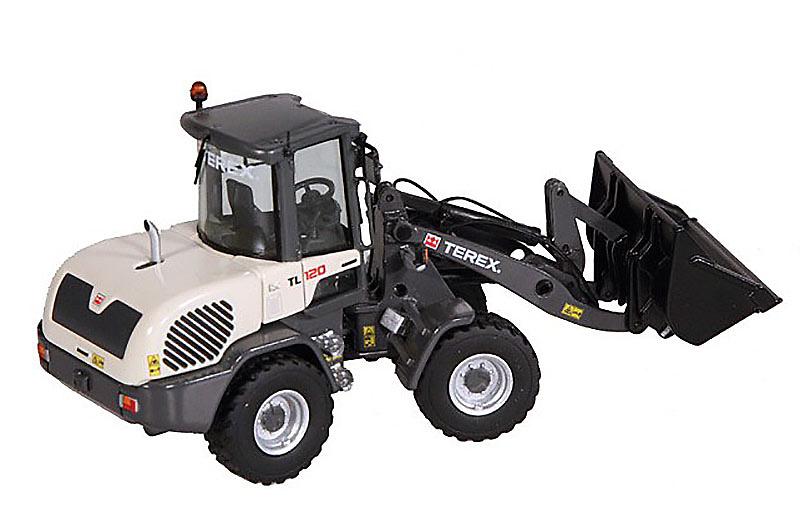Terex TL 120 pala cargadora, NZG 903 escala 1/50