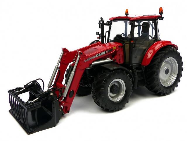 Case LRZ100 con cargadora Universal Hobbies 4273 escala 1/32