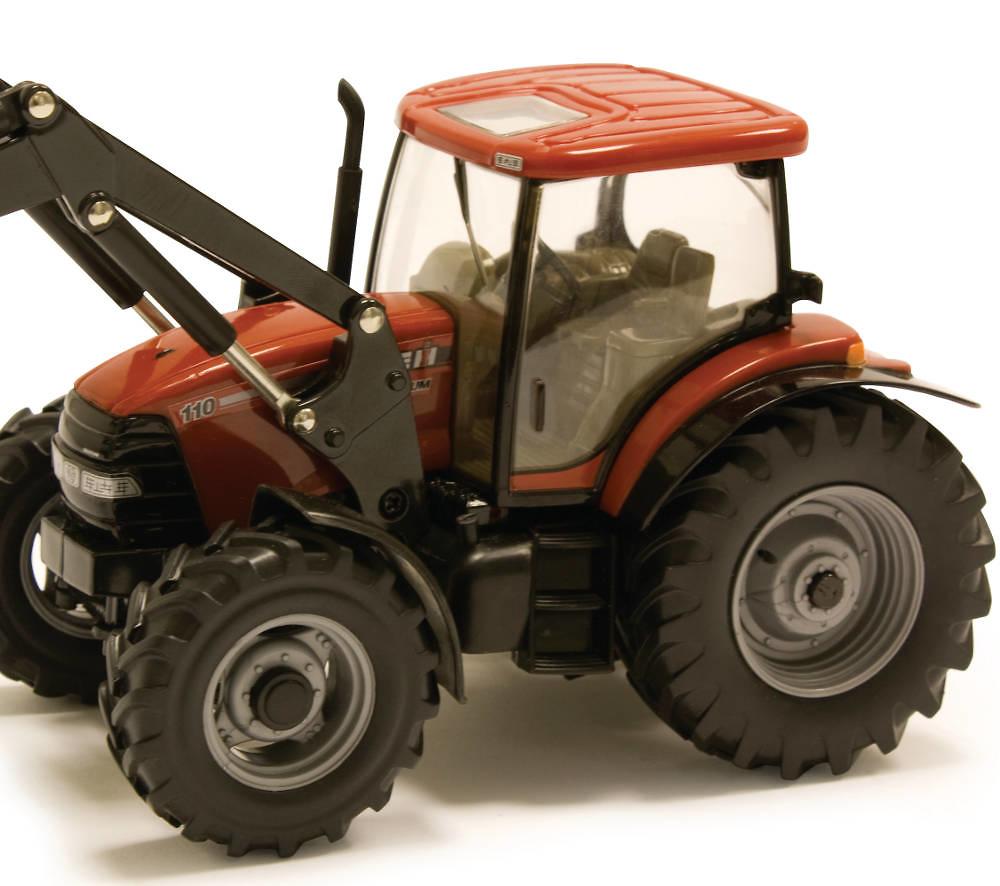 Tractor Case Maxxum 110 con pala frontal Britains 42688 escala 1/32