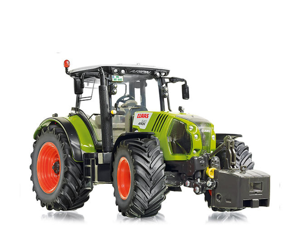 Tractor Claas Arion 640 Wiking 7324 escala 1/32