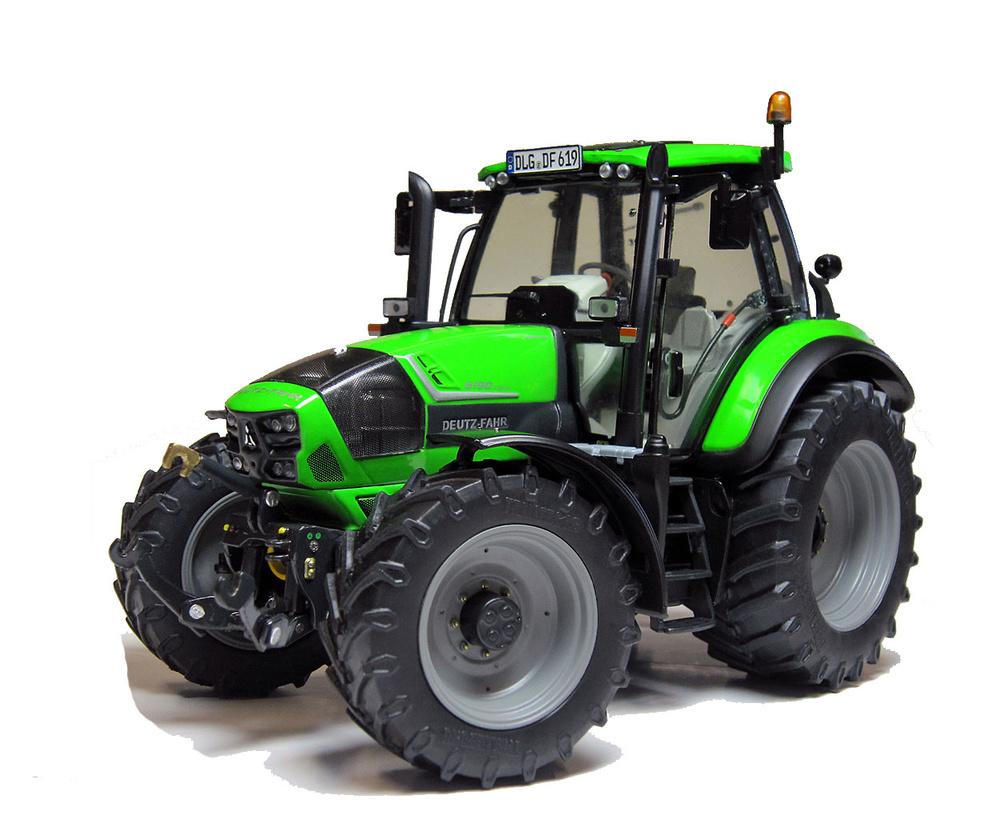 Tractor Deutz-Fahr Agrotron 6190 C Shift (2013 -) Weise Toys 1031 escala 1/32
