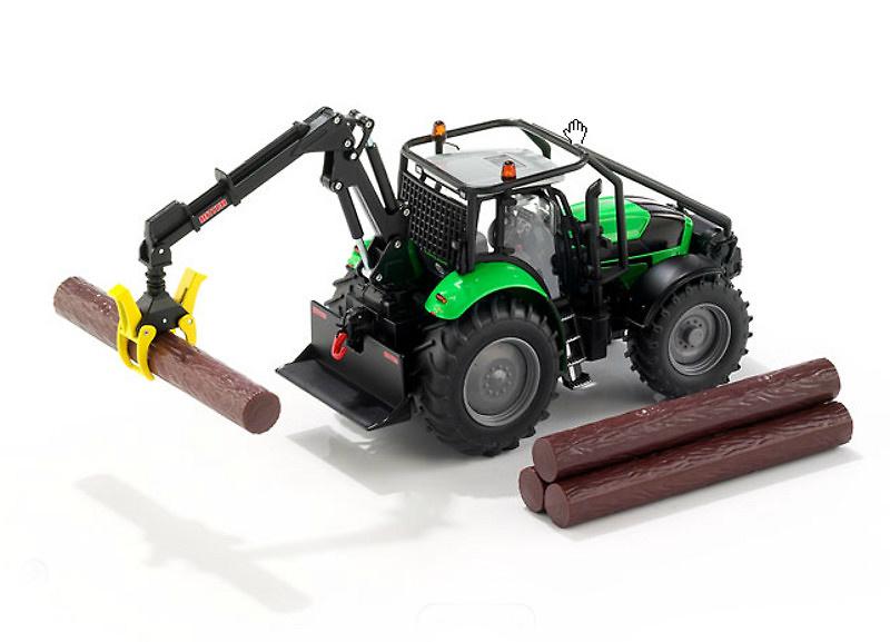 Tractor Deutz-Fahr Agrotron X720, Siku 1/32 3657