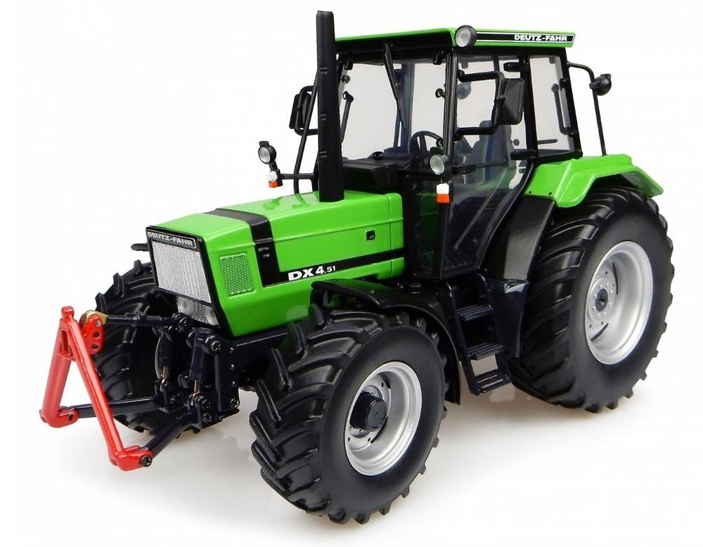 Tractor Deutz-Fahr Dx 4.51 Universal Hobbies 4905 escala 1/32
