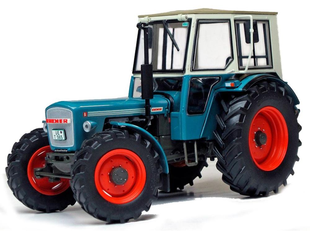 Tractor Eicher con lona Wotan Weise Toys 1060 escala 1/32