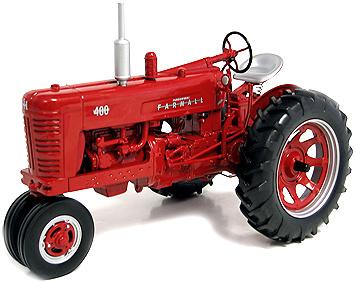 Tractor Farmall 400 Narrow-Gas, International Harvester Speccast zjd166 escala 1/16