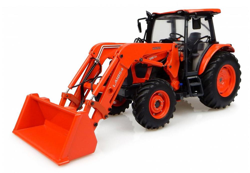 Tractor Kubota M5-111 con pala Universal Hobbies 4924