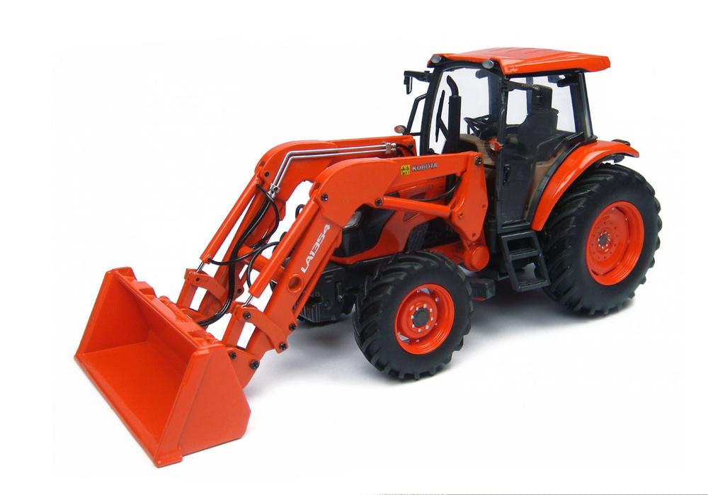 Tractor Kubota M9960 con pala Universal Hobbies 4869