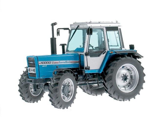 Tractor Landini 10000 S (1986 - 1990) azul, Weise Toys 1/32 - 1015