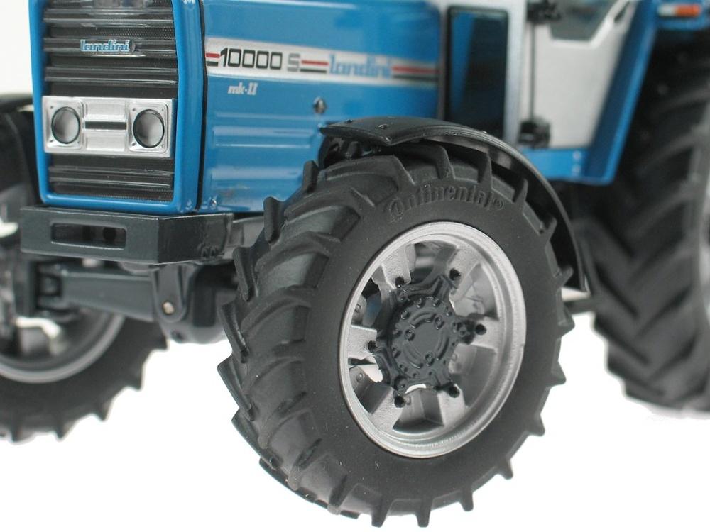Tractor Landini 10000 S (1986 - 1990) azul, Weise Toys 1015