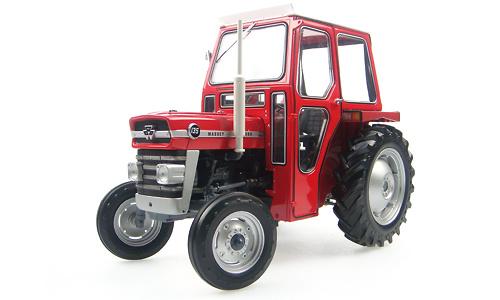 Tractor Massey Ferguson 135 con cabina Universal Hobbies 1/16 2697
