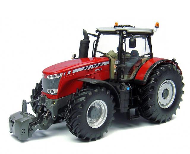 Tractor Massey Ferguson 8737 Universal Hobbies 4231 escala 1/32