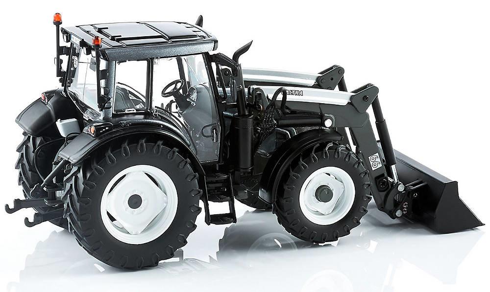 Tractor Valtra N123 con cargadora frontal Wiking 7327 escala 1/32