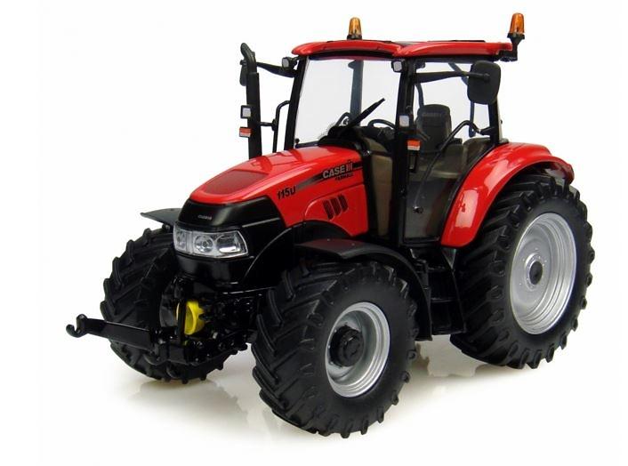 Tractor case 115 U (2013) Universal Hobbies 4129 escala 1/32