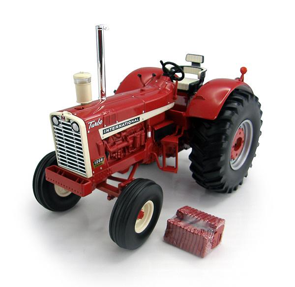 Tractor case internacional 1206 Ertl 14890 escala 1/16