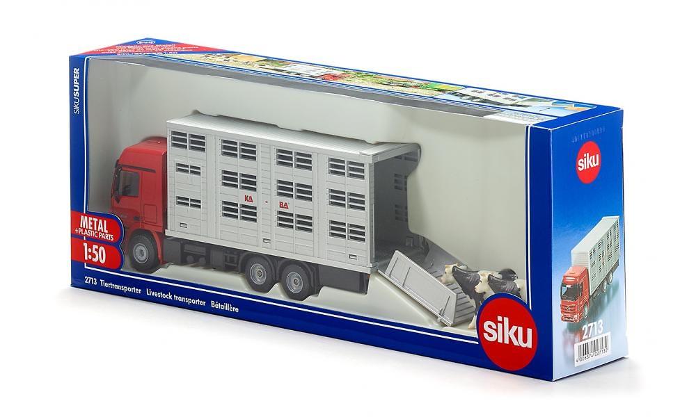 Tranporte animales con vacas Siku 2713 escala 1/50