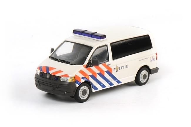 VW Transporter T5 policia, Wsi Model 04-1051 escala 1/50