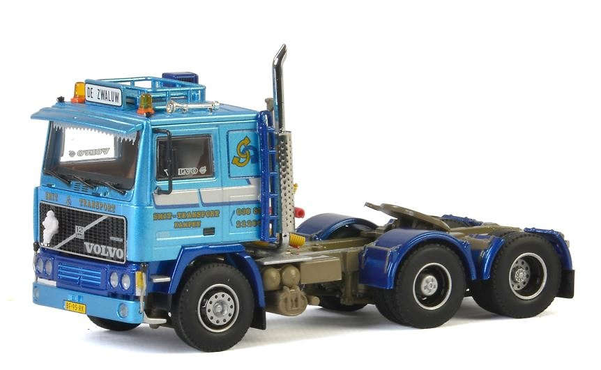 Volvo F12 Smit Transport Wsi Models 01-2318 escala 1/50
