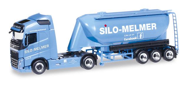Volvo FH + trailer cemento