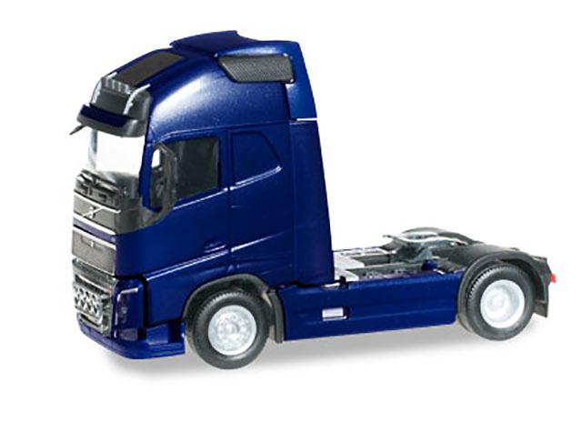 Volvo FH 16 Globetrotter XL azul cobalto con extra faros 304047 escala 1/87