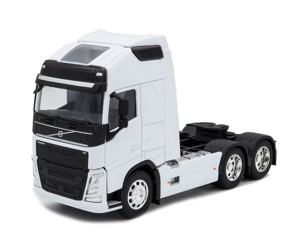 Volvo FH04 6x4 - blanca Welly 32690L-W escala 1/32