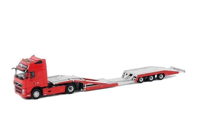 Volvo FH3 Globe XL 4x2 transporte cabez tractoras Wsi Models 04-1007 escala 1/50
