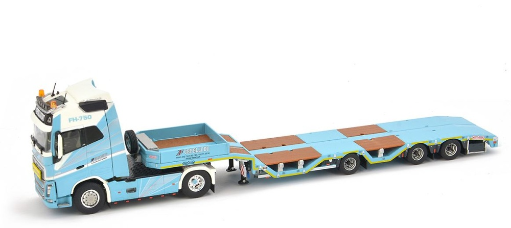 Volvo FH4 + Nooteboom OSDS44-03 Cepelludo Imc Models 32-0021