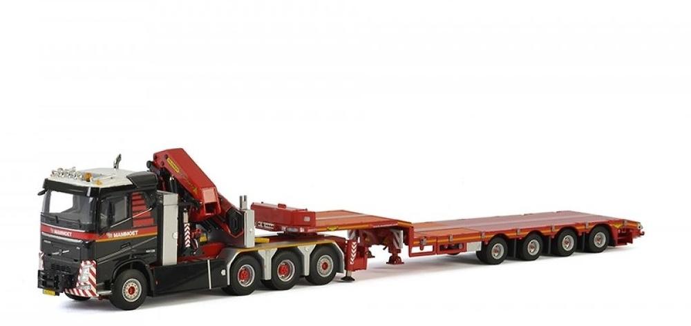 Volvo FH4 + grua palfinger + plataforma baja Mammoet Wsi Models 410330